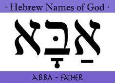 """Résultat de recherche d'images pour """"abba jesus"""""""