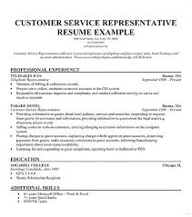 bank customer service representative resume resume objective for customer service repres simple bank customer