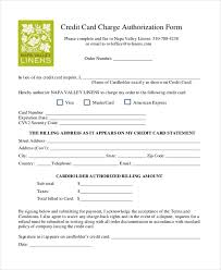 Sample Credit Card Authorization Letter Authorization Letter Sample ...