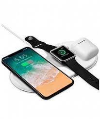 БЗУ <b>Devia 3in1</b> Wireless <b>Charger</b> для iPhone + Apple Watch - white ...