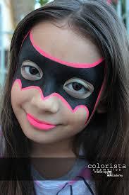 batgirl monliet face paint heroes villains characters