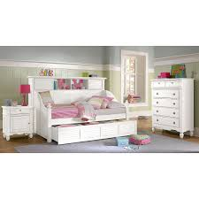 Bookcase Bedroom Furniture Wonderful White Twin Bedroom Furniture Set 3 White Daybed With