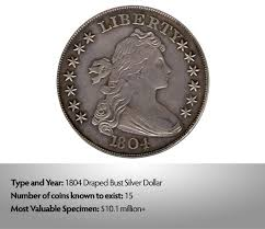 1804 Silver Dollar Value Chart 1804 Draped Bust Silver Dollar The Feminine Face Of Money