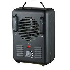 fan heater. null 1,500-watt utility milkhouse thermostat portable fan heater