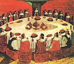 back in king arthur s day merlin created a roundtable to show that no one is higher than another but each person is recognized for their strengths
