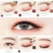 natural eyebrows natural eye makeup natural eyes korean eye makeup asian makeup korean makeup s korean makeup tutorials eyeshadow tutorials