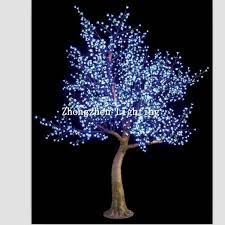 outdoor blossom tree led lights. outdoor pre lit blue artificial led cherry blossom tree light - buy product on alibaba.com lights a