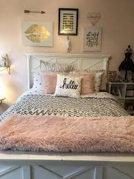 Teen Room Decor White Gold Blush Pink Teengirlbedrooms Home