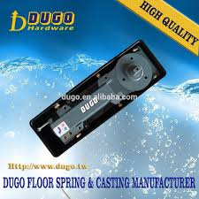 dugo 1800 6 double swing hydraulic floor spring hinge heavy duty pivot door closer of glass door accessories