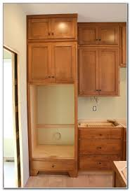 double wall oven cabinet plans