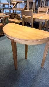 tt half moon extending dining table