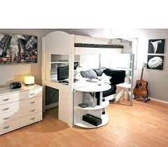 bunk bed office underneath. Desk Loft Bed Double Bunk With Student Rental Ideas On . Office Underneath