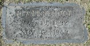 Elmer Francis Hood (1892 - 1959) - Genealogy