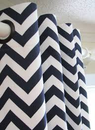 Navy And White Curtains Navy White Chevron Curtains Best Curtains 2017