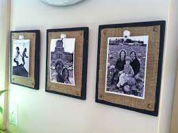Diy Rustic Frame Diy Easy Rustic Photo Frame Crafthubs