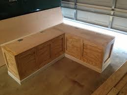 Wood Storage Bench  TreenovationWood Bench With Storage Plans