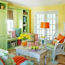 Orange And Yellow Living Room Inspired By Design Color My World