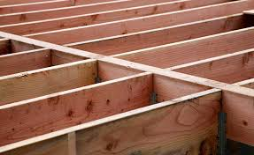 suspended timber floor structure