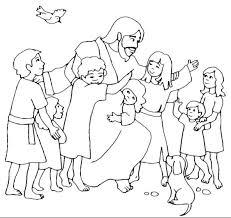 Coloring Picture Of Jesus Trustbanksurinamecom