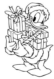 Small Picture Donald Duck Coloring Pages Printable Donald and Daisy on