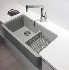Blancos New Concrete Gray Silgranit Sink Vanessa Francis Interior