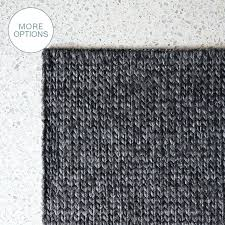 cable wool rug custom made cable knit hand woven braided wool rug dark grey nuloom handmade cable wool rug