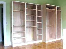 diy built in cabinets how to build ins building shelves wall bookshelf plans bookcase with stock