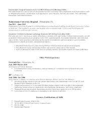Telemetry Nurse Resume Extraordinary Resume Cover Letter Telemetry Nurse Resume Cardiac Nurse Resume