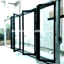 exterior bifold glass doors folding glass doors exterior cost accordion glass doors exterior accordion metal door