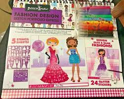 Fashion Angels Design Fashion Angels Fashion Design Sketch Portfolio Express Complete Gift Set New
