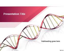 Free Genetic Science Powerpoint Template