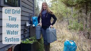 tiny house water system. Simple Tiny Life In A Tiny House Called Fy Nyth  Off Grid Water System With