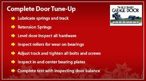 garage door tune upSpecials  Woodlands Texas garage door sales service and repair