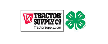 tractor supply logo. tractor supply company, national 4-h council announce fall paper clover campaign supporting youth - nw horse source tractor supply logo