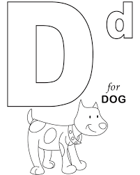 D For Dog Printable Alphabet Coloring Pages Alphabet Coloring