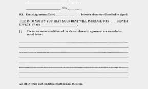Rent Increase Form California Rent Increase Form California Notice Of Washington State D 13