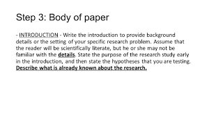 Writing An Apa Research Paper Ppt Video Online Download