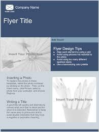 Handout Flyers Templates Vector Brochure Flyer Template Design A5