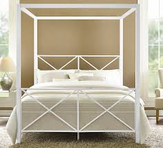 Queen Canopy Bed Frame Ikea — Fossil Brewing Design : Metal Canopy ...