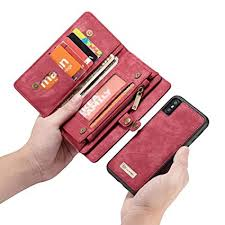 iPhone XR <b>Genuine</b> Leather Stand Slim Flip, CHEETOP <b>TOP</b> Layer ...