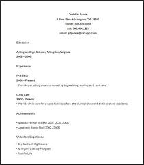 Sample Resume For High School Student 40 VCopious Amazing Resume High School