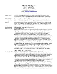Sample Resume of Contract Administrator Resume