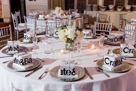 wedding round tables