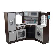 Toy Kitchen With Lights And Sound Kidkraft Ultimate Corner Play Kitchen With Lights And Sounds