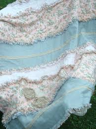 Rag Quilt Throw Large Pink Grey Cream And Beige Handmade Shabby ... & Rag Quilt Throw Large Pink Grey Cream And Beige Handmade Shabby Chic Quilts  Pinterest Shabby Chic Adamdwight.com