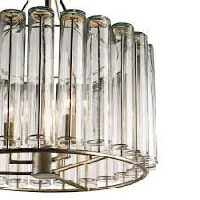 bevilacqua chandelier small by currey company image 2