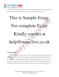 great depression essay sample  countries completely 4