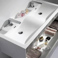 bathroom double sink vanity units. Lusso Stone Encore Double Designer Wall Mounted Bathroom Vanity Unit 1200 Sink Units T