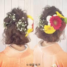 2019年卒業式ヘアアレンジ集袴姿を華やかに飾るならこれ Arine