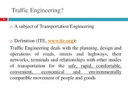 Ite Traffic Engineering H 4th
